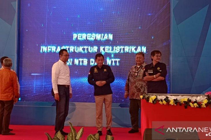 Menteri ESDM resmikan infrastruktur kelistrikan di NTB n NTT
