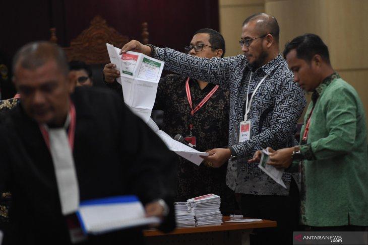 MK gelar sidang putusan sengketa Pemilu Legislatif 2019