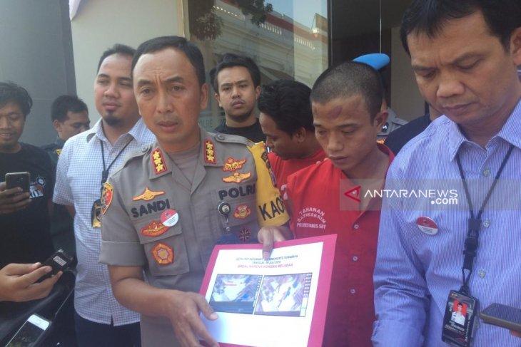 Polrestabes Surabaya ringkus komplotan perampok minimarket (Video)