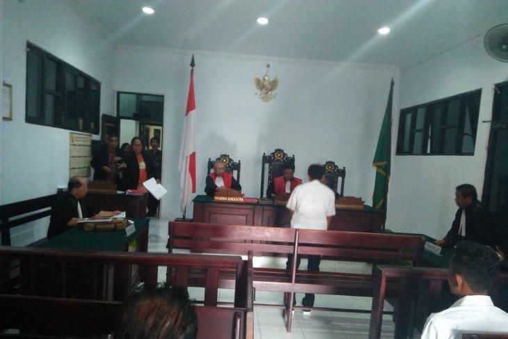 Syaiful divonis  13 tahun penjara karena angkut kayu ilegal