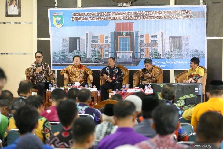 Pemkab gelar konsultasi publik rencana pembangunan kantor baru