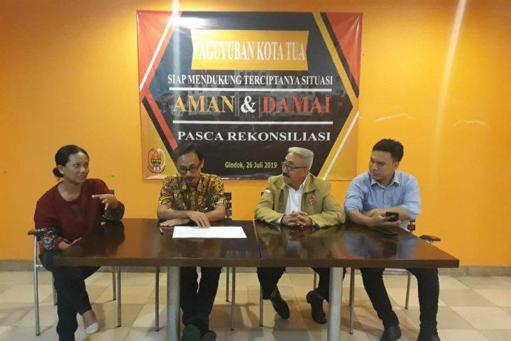 Pedagang di Kota Tua Jakarta menyambut baik rekonsiliasi politik