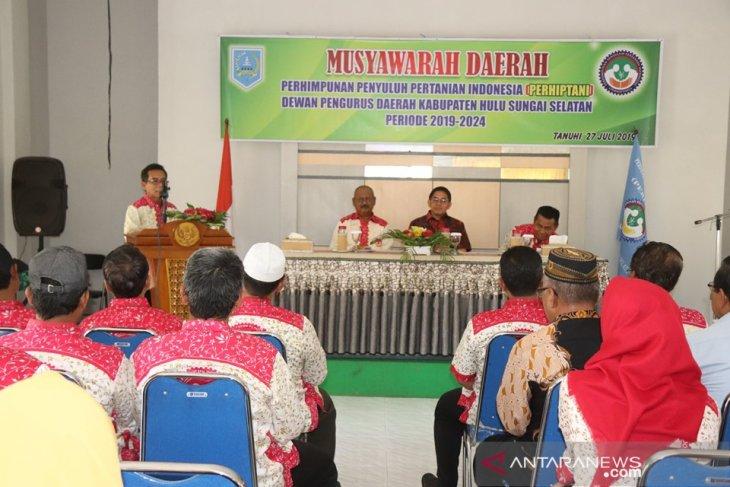 Wabup HSS harapkan Perhiptani dukung pembangunan daerah