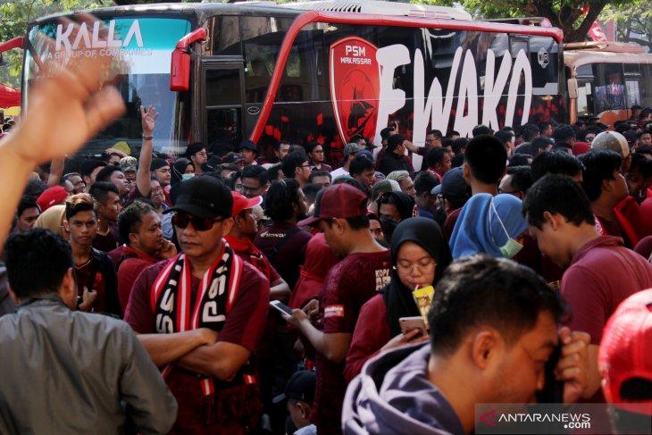 Final Piala Indonesia PSM Makassar vs Persija resmi ditunda