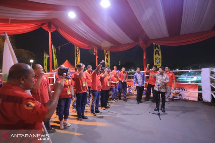 Kota Tangerang gelar Kejurda tinju di bantaran Sungai Cisadane