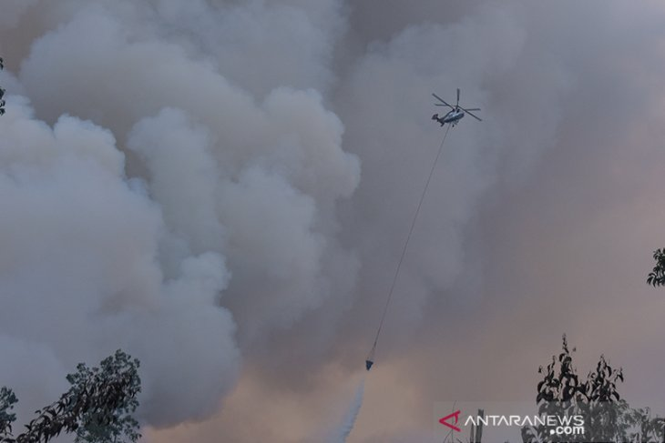 Some 5,929 deployed personnel douse forest fires in five provinces
