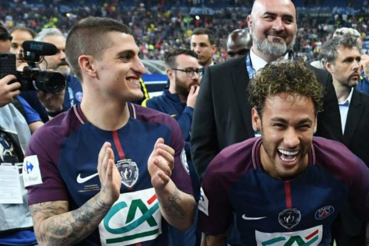 Neymar tidak betah di PSG, Verratti: Jual saja