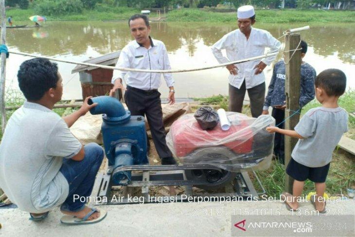 Dinas Pertanian HSU siapkan puluhan pompa air
