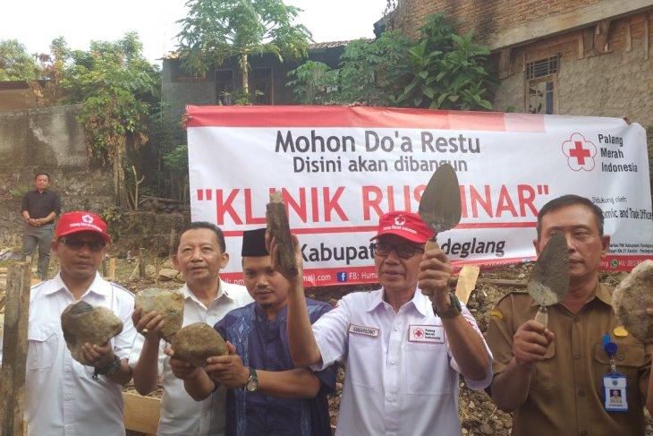 PMI bangun Klinik Rusdinar di Pandeglang Banten