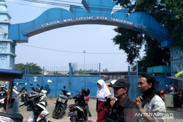 Stadion mini Ciputat direvitalisasi, Persitangsel bakal absen latihan