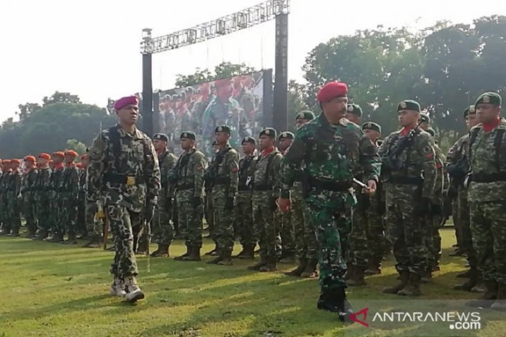 Hasil survei, TNI lembaga negara paling dipercaya publik