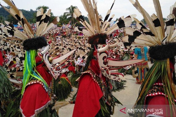 Kementerian Pariwisata dukung festival Hudoq Cross Border