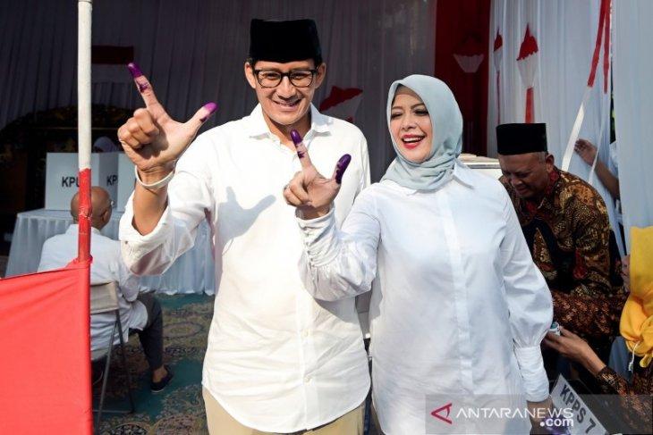 Sandiaga tak ingin hambat karir politik istri terkait pilada Tangsel