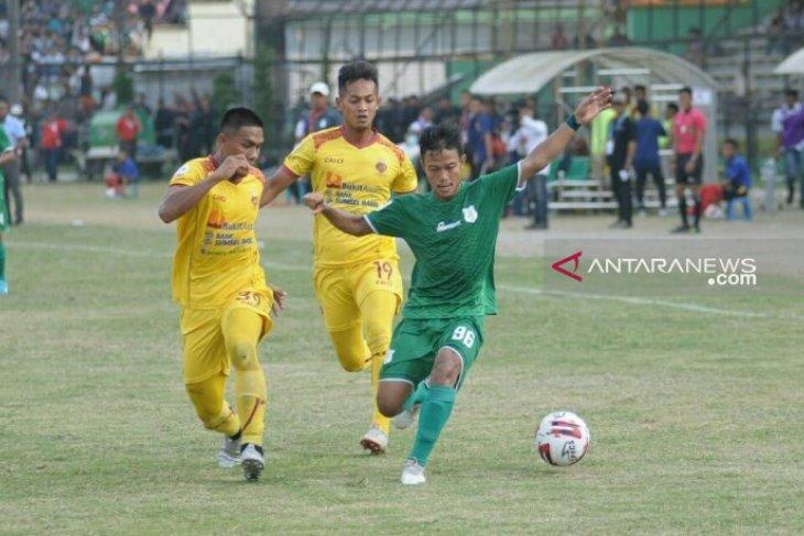 PSMS ditahan imbang Sriwijaya FC 1-1