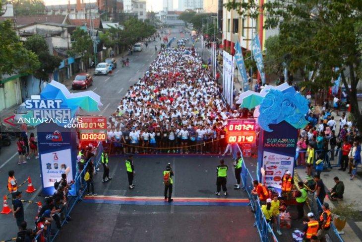 6.005 pelari siap ramaikan Surabaya Marathon 2019