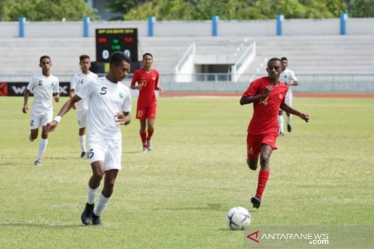 Indonesia juara Grup A  Piala AFF U-15 2019