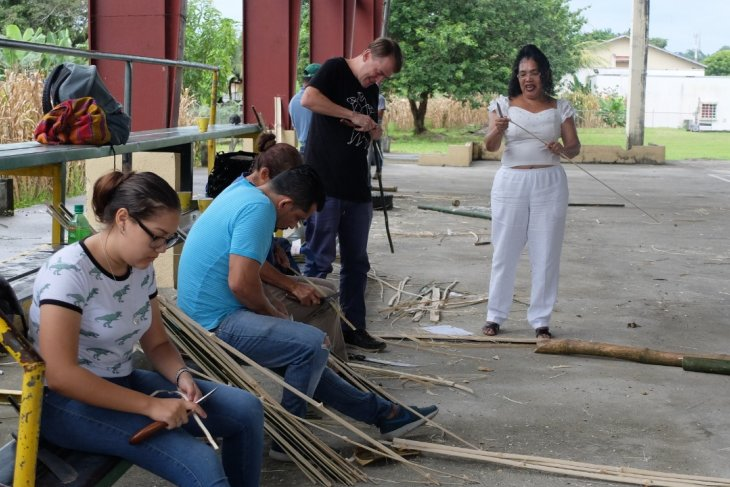 Indonesian Embassy holds Bamboo Workshop in Panama