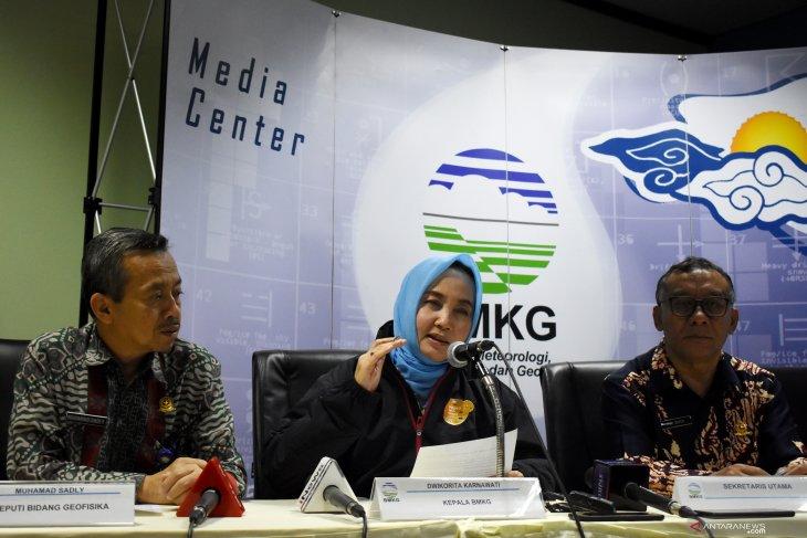 BMKG mutakhirkan gempa Banten bermagnitudo 6,9