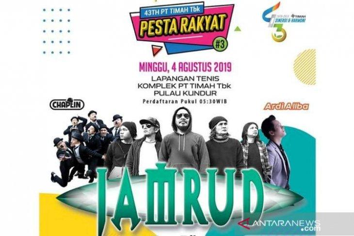 Jamrud siap hipnotis ribuan pengunjung Pesta Rakyat PT Timah