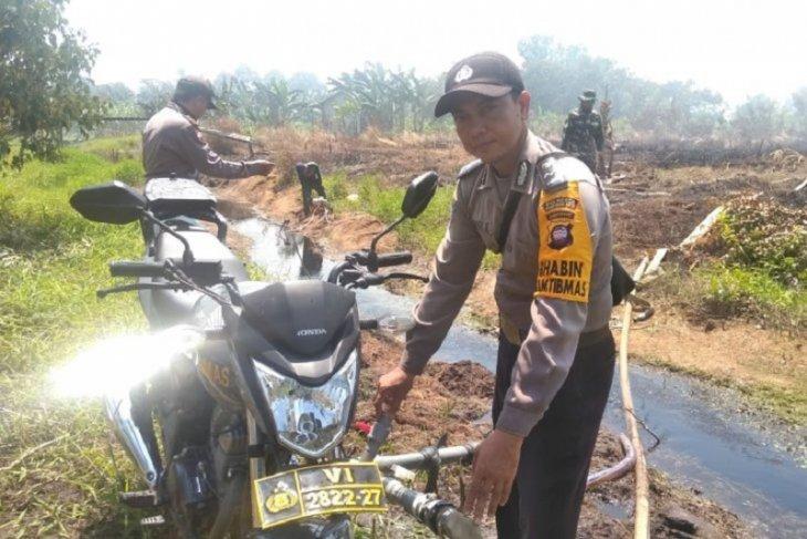 BPBD Kubu Raya fokuskan penanganan Karhutla di KKOP Bandara Supadio Pontianak