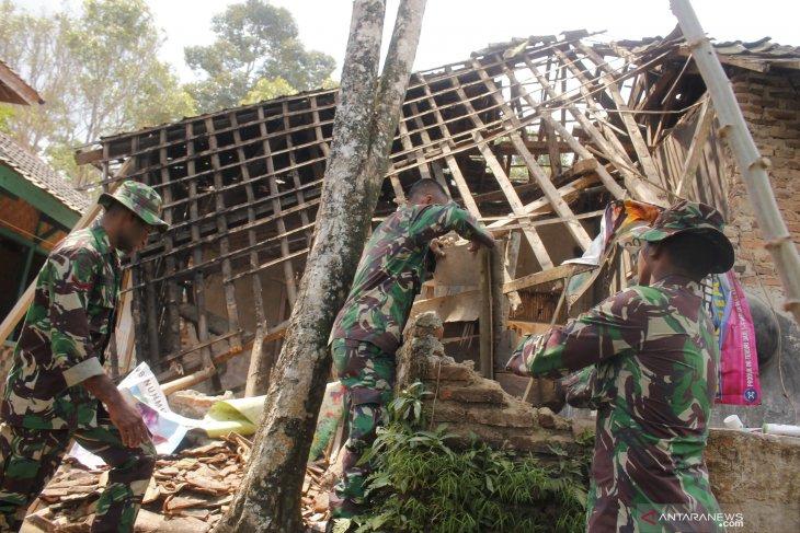 Gempa Banten  rusakkan 223 rumah