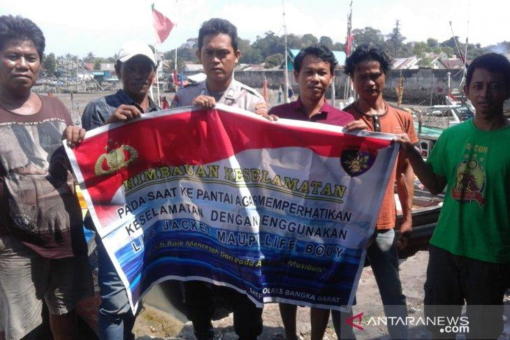 Satpolair Polres Bangka Barat minta nelayan waspadai angin kencang