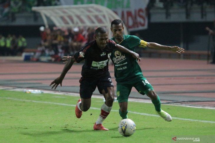 Liga 1: Persebaya vs Persipura, Mutiara Hitam usung misi balas dendam