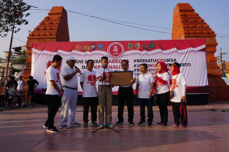 Pemkot-Polres Mojokerto komitmen wujudkan kota bebas narkoba