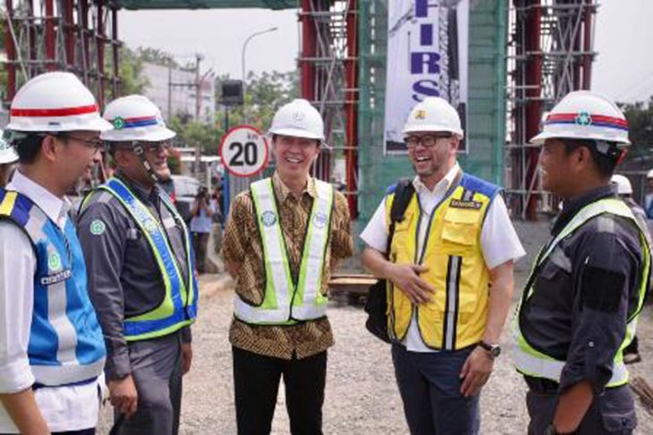 Wakil Wali Kota Bogor tinjau progres pembangunan Tol BORR seksi III A