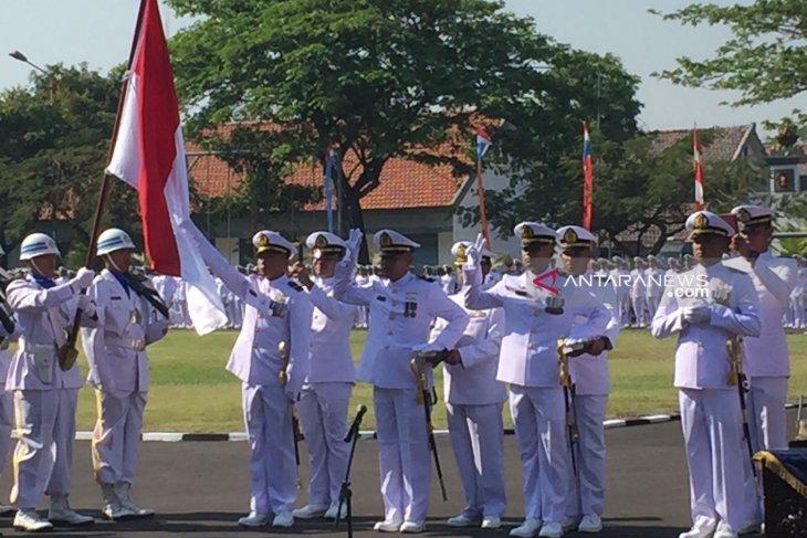 Wakasal lantik 348 perwira remaja baru