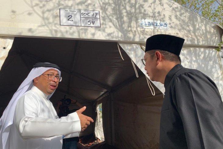 Untuk hindari perselisihan antar-jamaah,  tenda di Arafah-Mina dinomori
