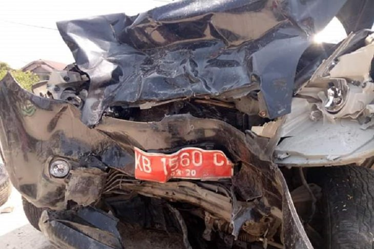 Supir mobil trado kritis setelah laka tunggal di Aceh Timur