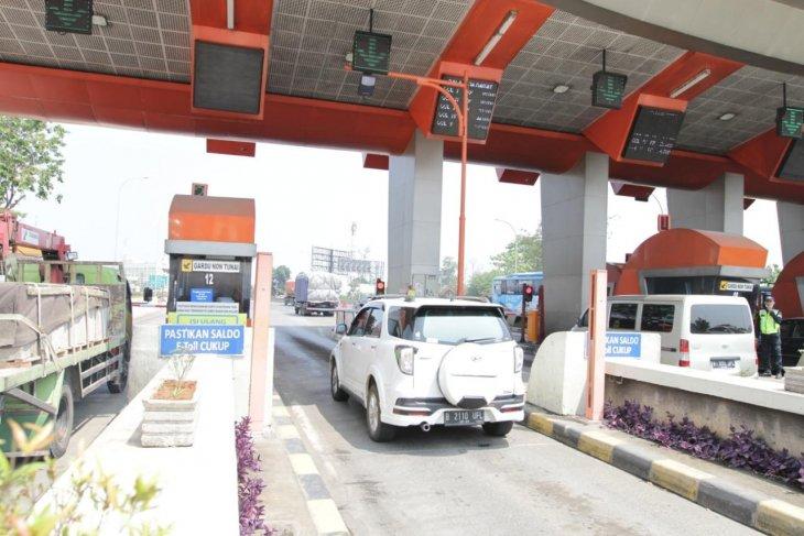 Tol Tangerang Merak  terapkan transaksi tanpa berhenti