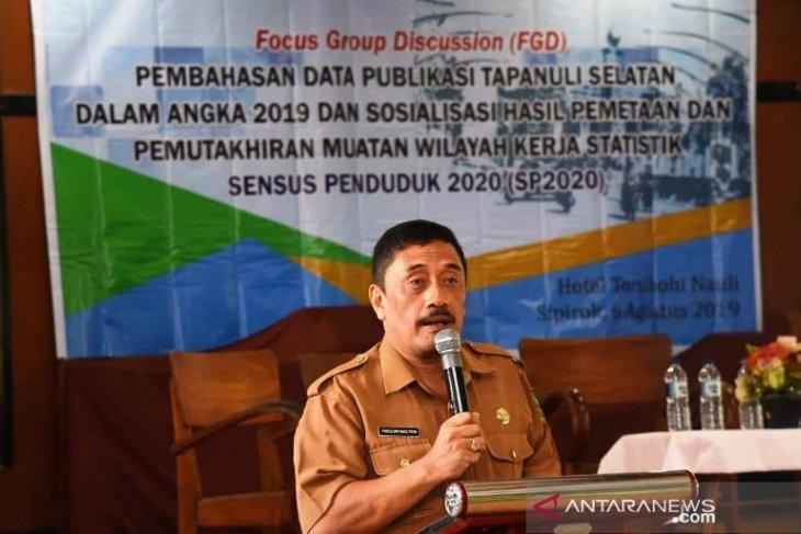 BPS - Pemkab gelar FGD terkait Tapanuli Selatan Dalam Angka