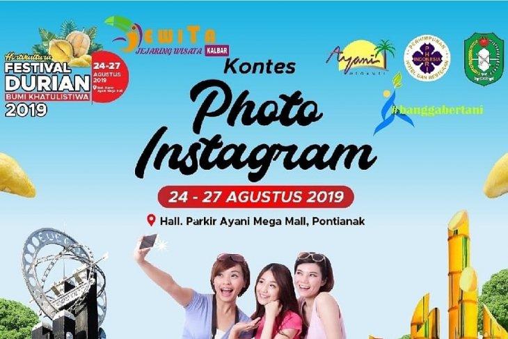 Ikuti kontes selfie kenalkan durian dan kemeriahan festival