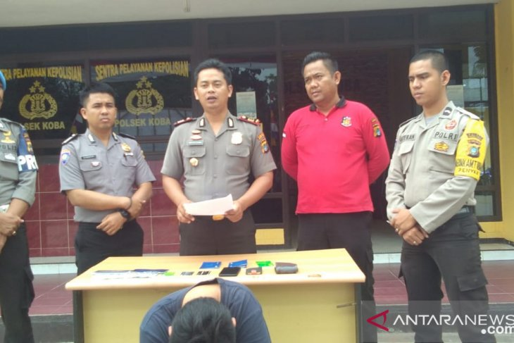 Polisi Bangka Tengah tangkap pelaku penggelapan uang perusahaan