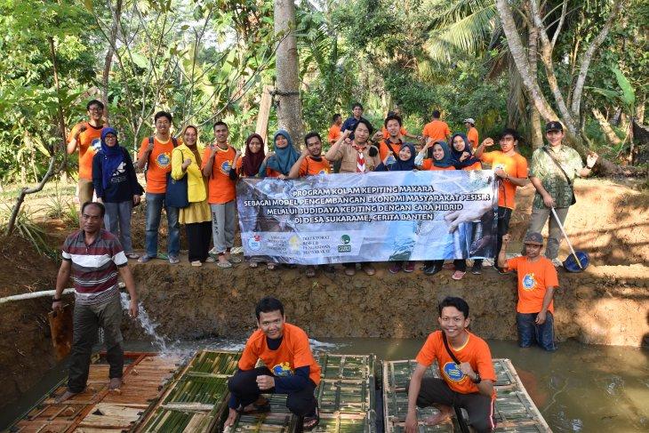 FMIPA UI kembangkan kolam kepiting makara di Carita Banten