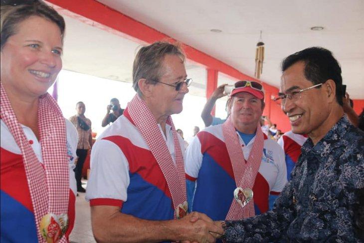 Darwin-Ambon Yacht Race participants reach finish line in Maluku