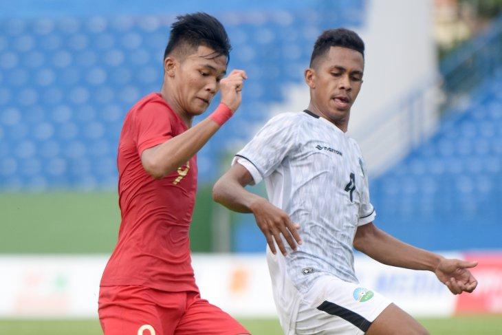 Indonesia's U-18 footballers hammer Brunei in AFF League