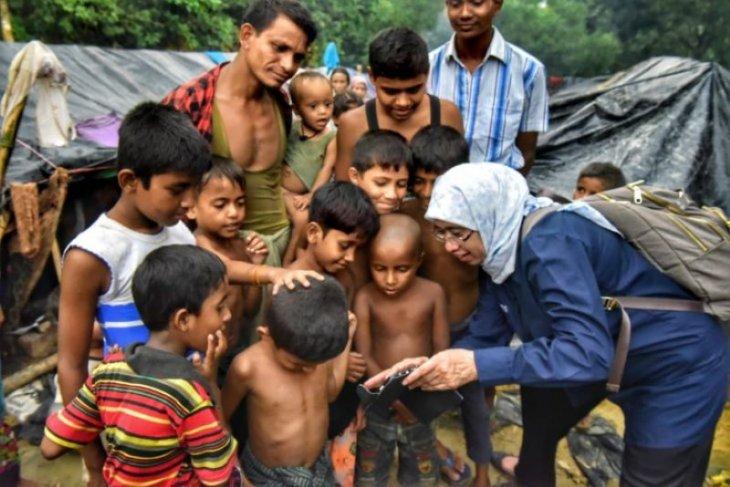 Empat bocah Rohingya tewas dalam ledakan ranjau darat di Rakhine