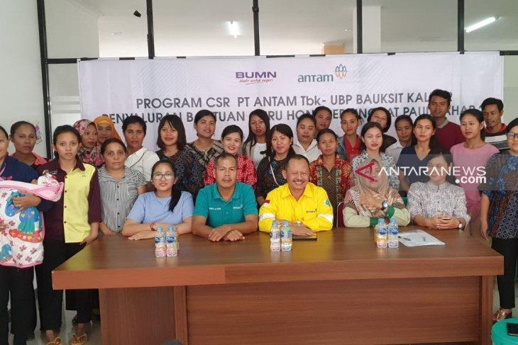 PT Antam berikan tunjangan bulanan kepada 28 guru honorer PAUD