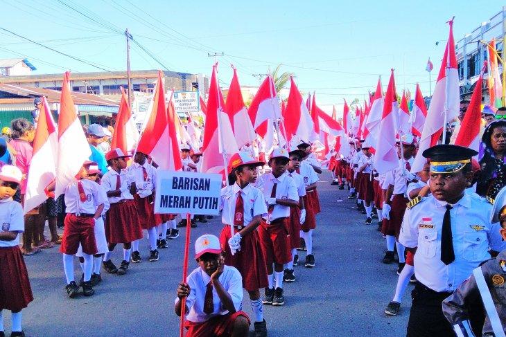 Pemkab Bangka minta rumah warga pasang bendera