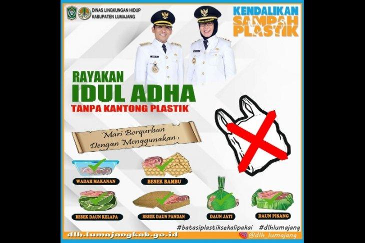 Pemkab Lumajang imbau pembagian daging kurban tidak gunakan plastik