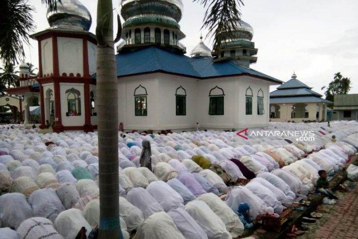 Jamaah Tarekat Syattariah di Nagan Raya Aceh rayakan Idul Adha