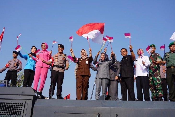 Pemkot Mojokerto apresiasi kirab Prasetya Merah Putih