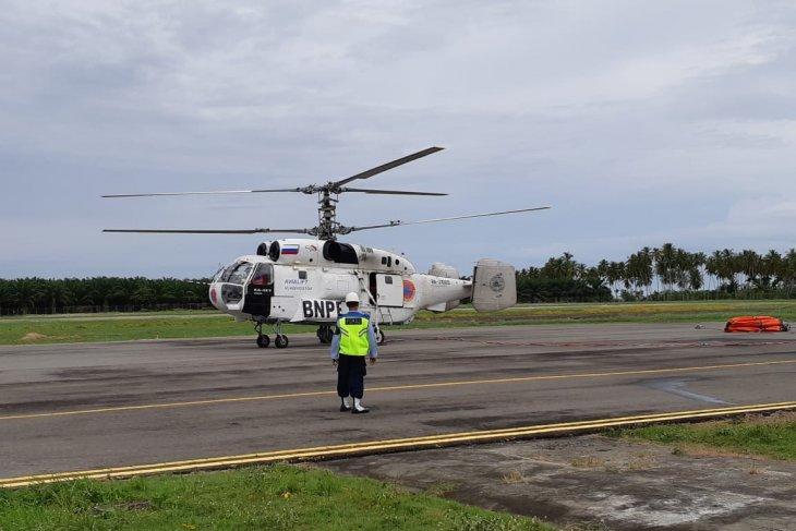BPBA kerahkan helikopter padamkan kebakaran lahan di  Aceh Barat