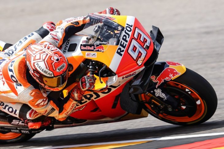 Marquez raih pole position GP Austria sekaligus pecahkan rekor Doohan