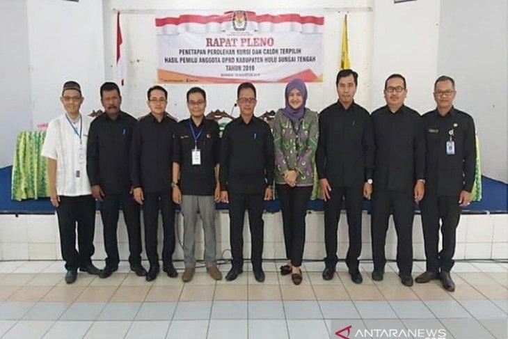 Inilah para pejabat legislatif HST yang akan dilantik besok