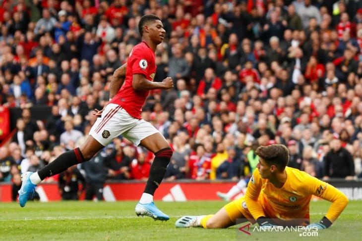 MU gunduli Chelsea 4-0, Marcus Rashford cetak 2 gol