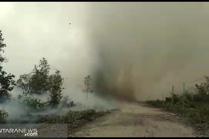 Aktivitas Bandara Tjilik Riwut dikhawatirkan terganggu asap dari karhutla